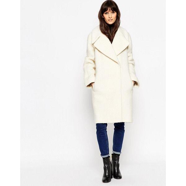 Ubergrosser Mantel Mit Umgeschlagenen Armeln Shopping Tipps