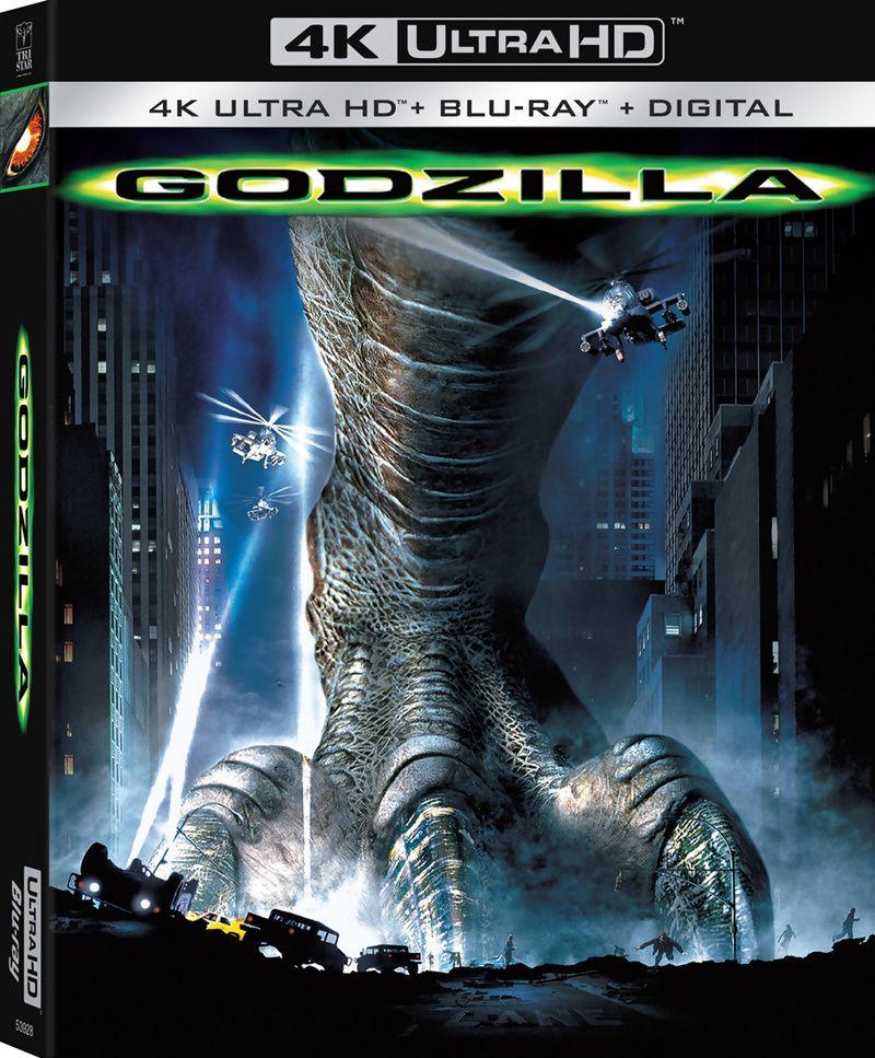 Godzilla (1998) 4K Blu-ray   Blu Ray in 2019   Godzilla