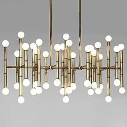 Mid Century Modern Chandeliers Pendants At Lumens