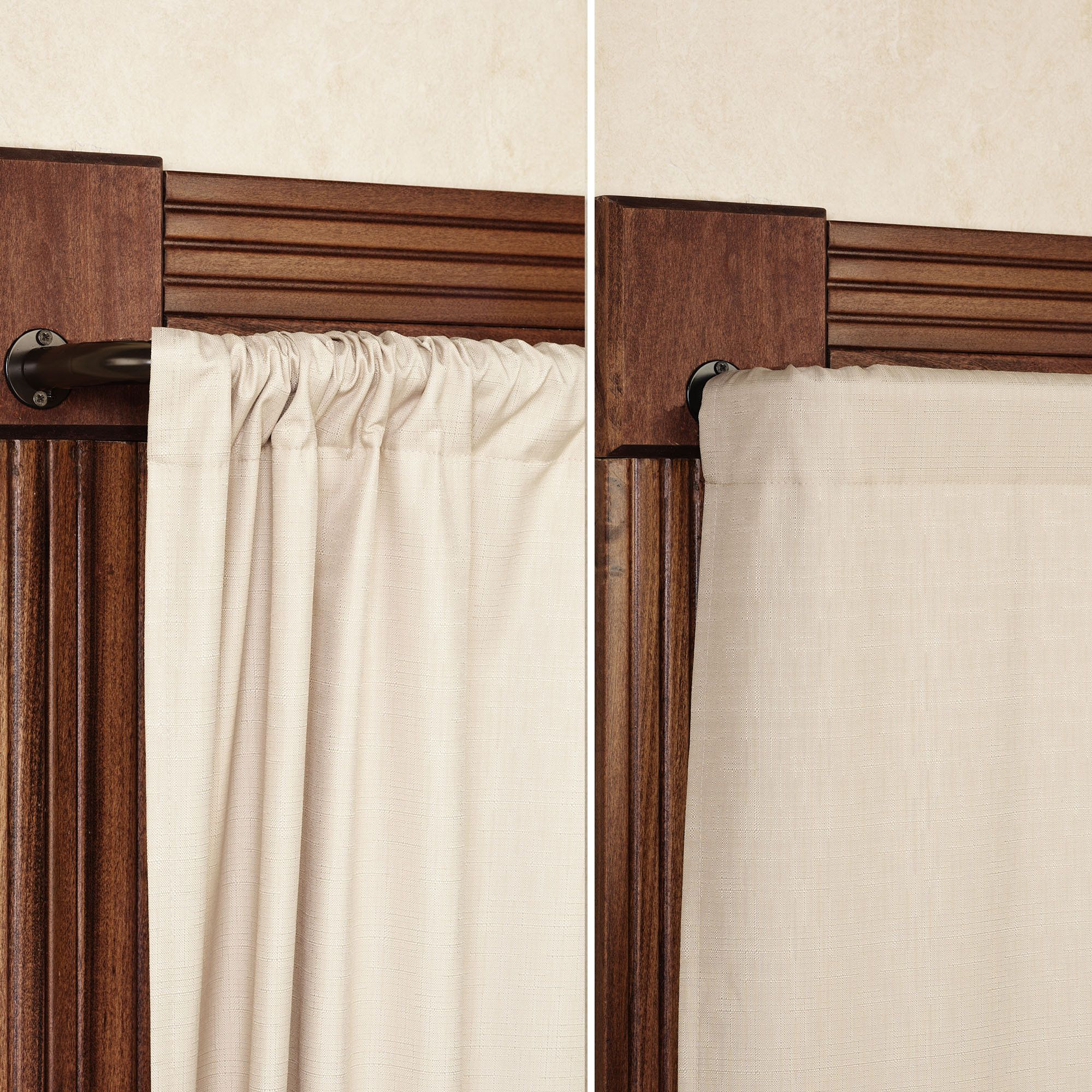 Blockaide Wrap Around Curtain Rod Wrap Around Curtain Rod Curtains Curtain Rods