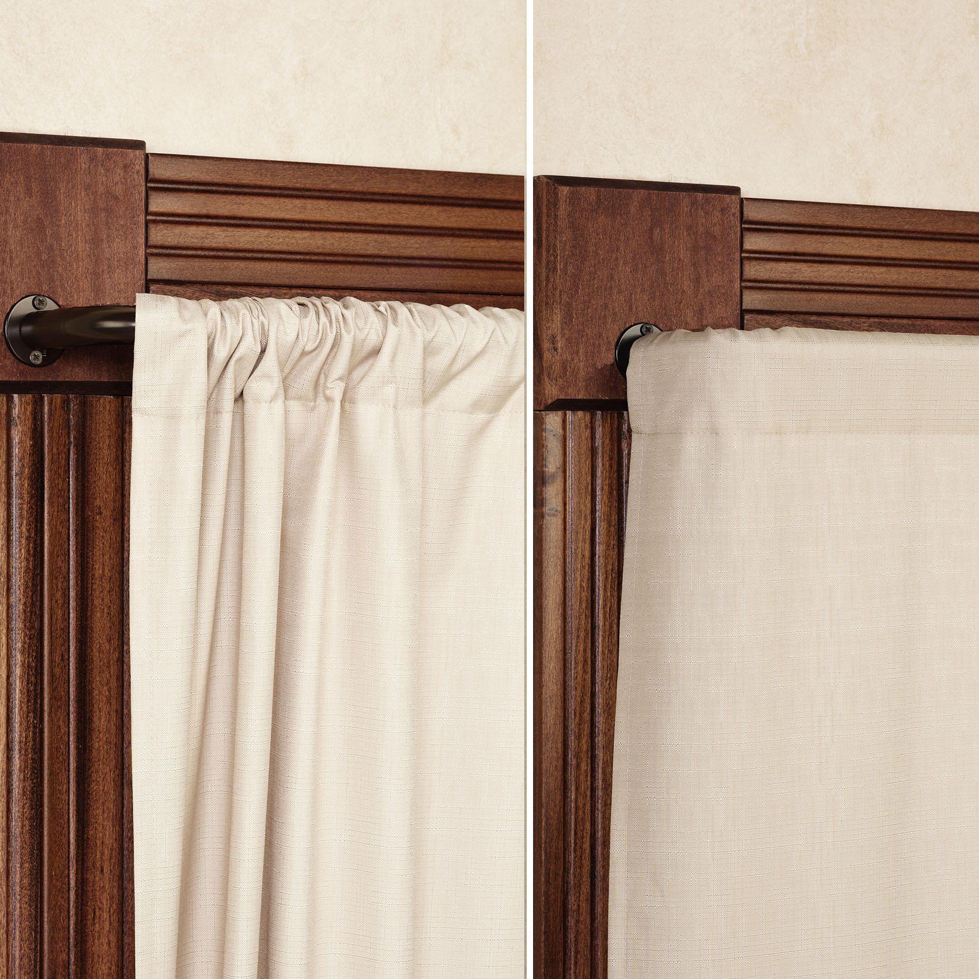 Blockaide Wrap Around Curtain Rod Wrap Around Curtain Rod