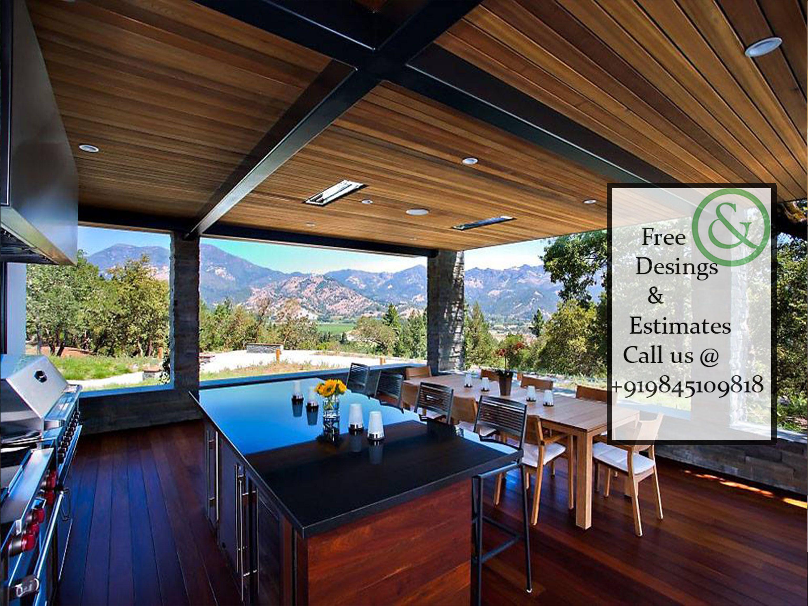 Home Bar Design Olive & Pine Interiors Pvt Ltd