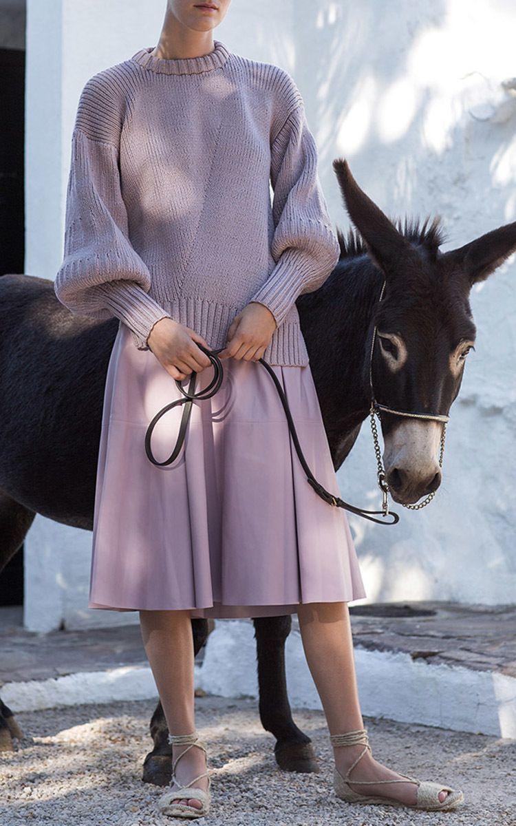 Alicia Sweater by Alejandra Alonso Rojas | Moda Operandi