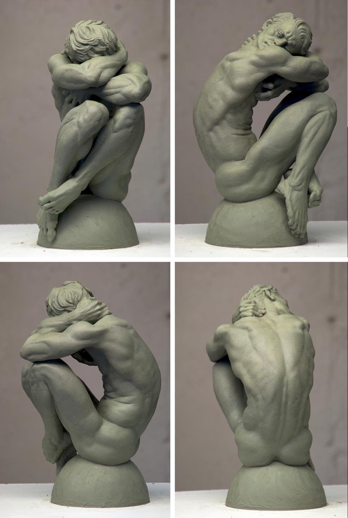 clay master | RefsRefsRefs! | Pinterest | Escultura, Anatomía y ...