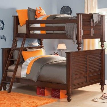 Best My Haven Twin Over Full Bunk Bed Bayside Furnishings Home Furnishings Full Bunk Beds 400 x 300