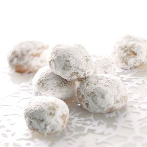 Glazed Pfeffernuesse, German cookie that stores well and can be made ahead