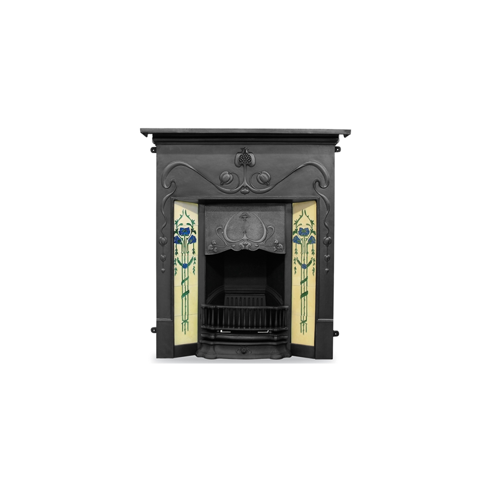 Carron The Valentine Cast Iron Combination Fireplace Fireplace