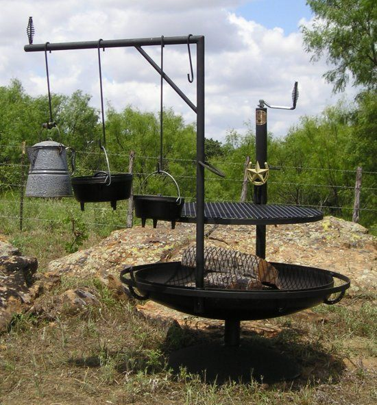 Great Bbq Pit Set Up For The Backyard Perfect Under The: Welcome To The Cowboy Campfire Grills Website