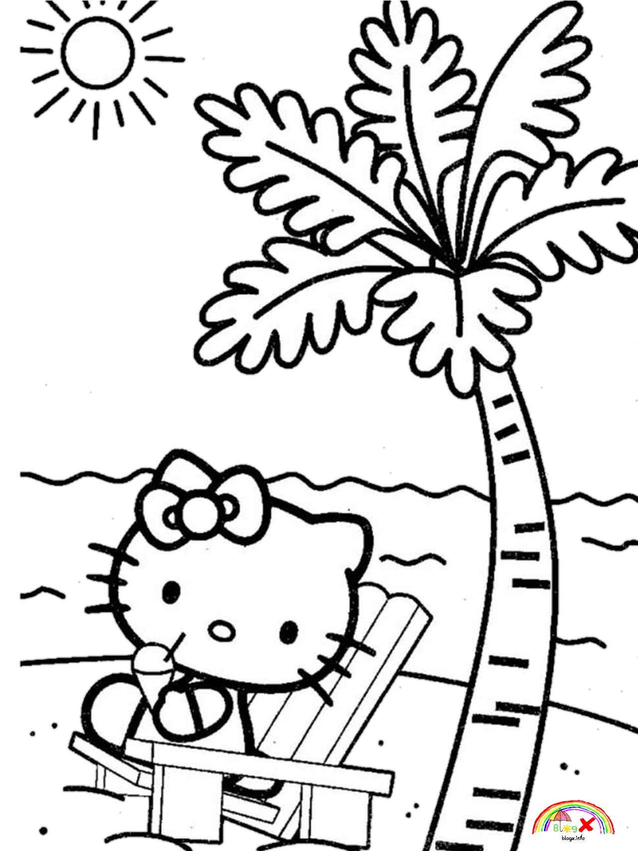 Pin By Anareli A On Coloring Pages Hello Kitty Coloring Hello Kitty Colouring Pages Hello Kitty Printables