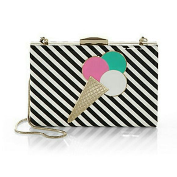 "Spotted while shopping on Poshmark: ""Kate Spade Emmanuelle Ice Cream Clutch Bag""! #poshmark #fashion #shopping #style #kate spade #Handbags"