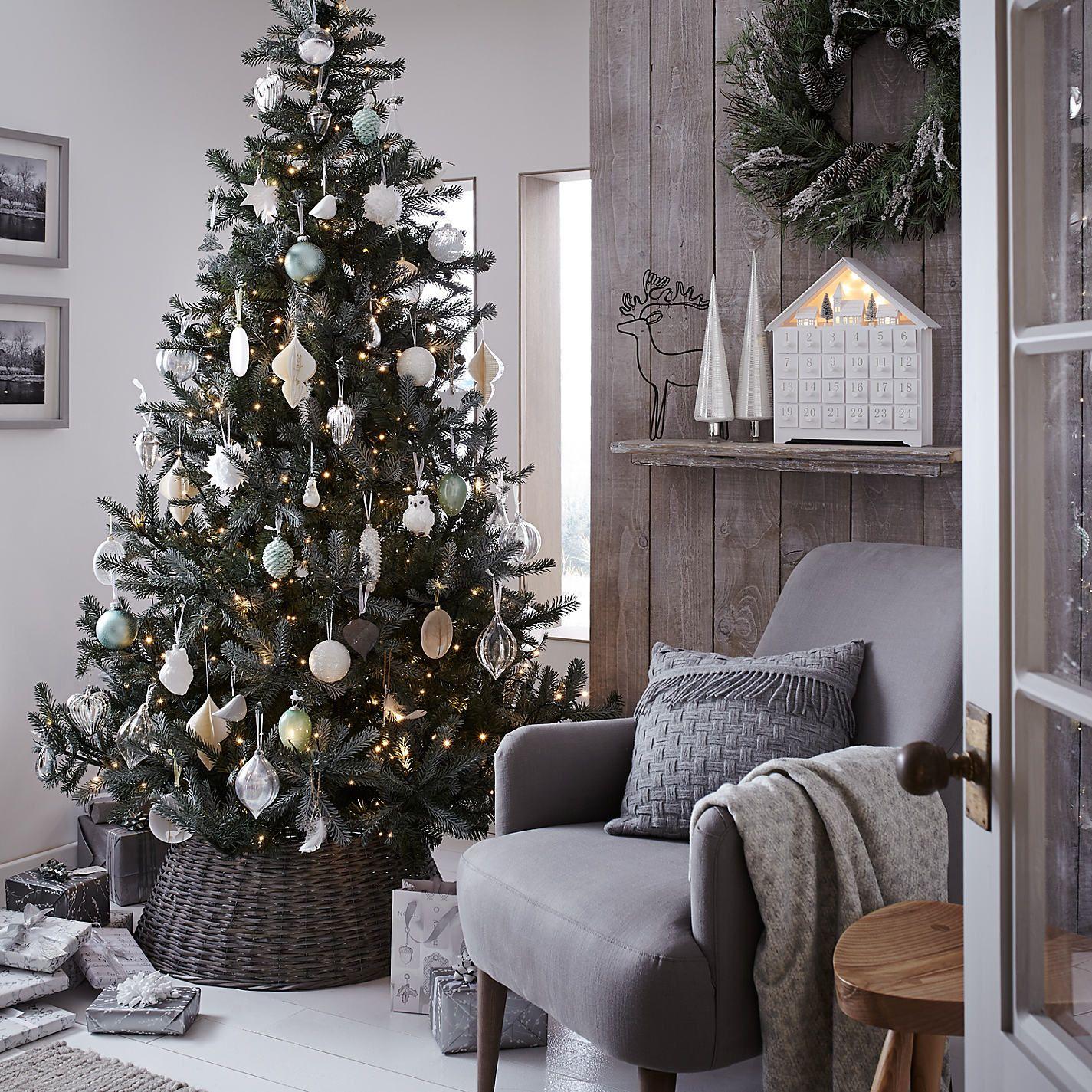 Buy Create The Look Croft John Lewis Christmas Interiors Scandinavian Christmas Trees Spruce Christmas Tree