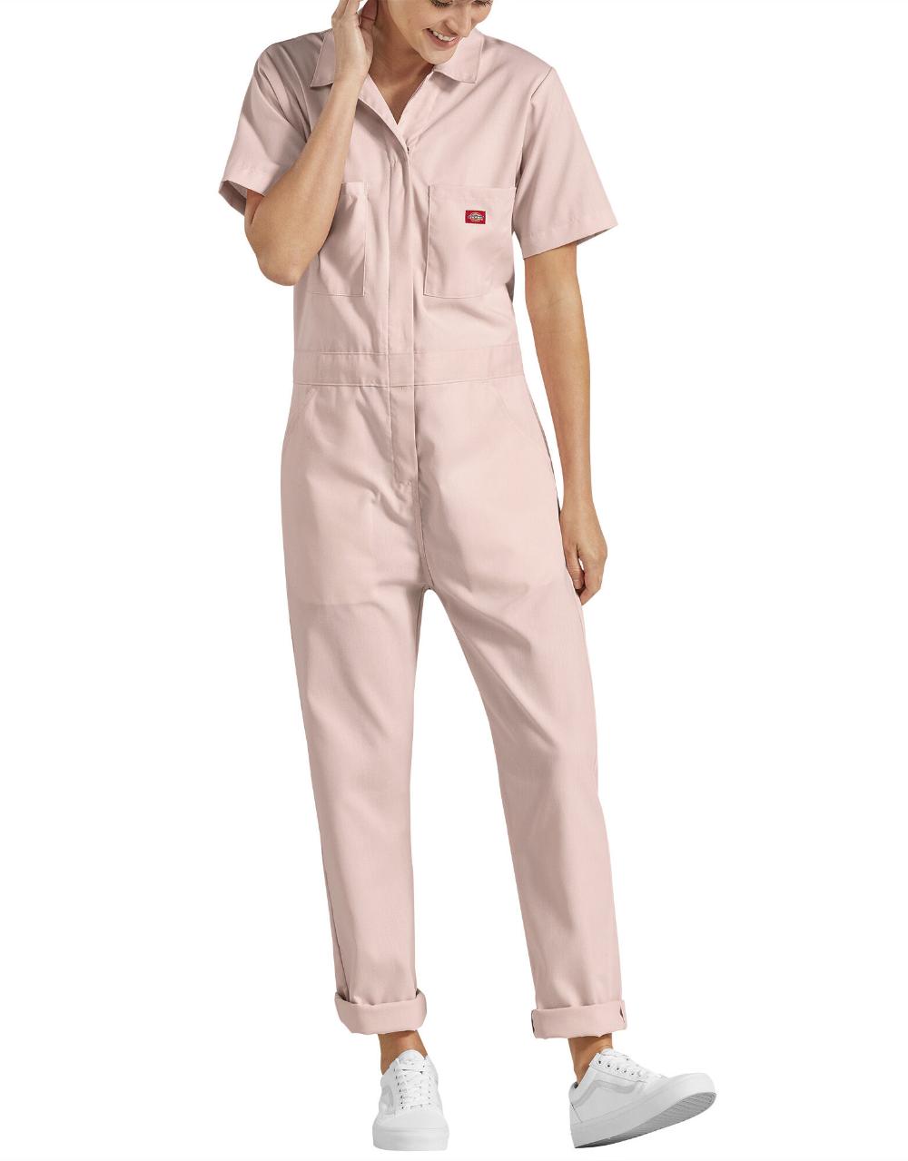 women s flex temp iq short sleeve coveralls dickies us on dickies coveralls id=27058