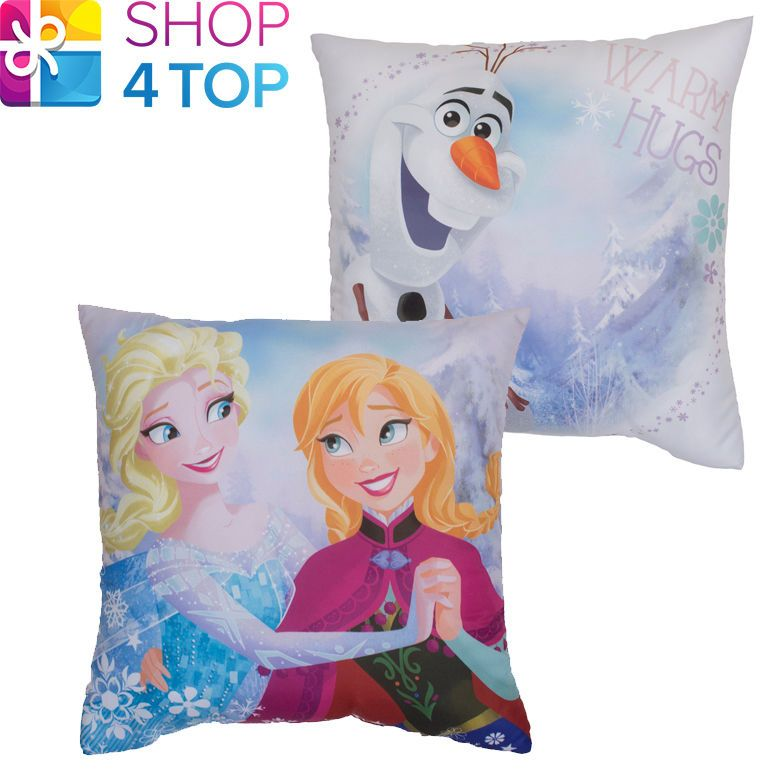 Disney Frozen Kristall Reversible Cushion Kissen Squere Bettwäsche