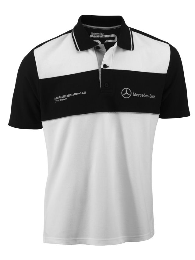 40754e1cd4d Men s polo shirt. White black. 100% cotton piqué. Silver-coloured ...