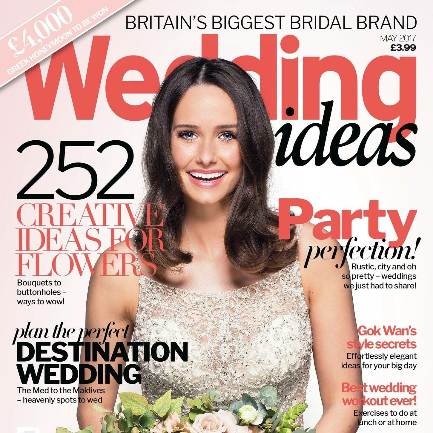 Front Cover Of Wedding Ideas Magazine May Edition 2017
