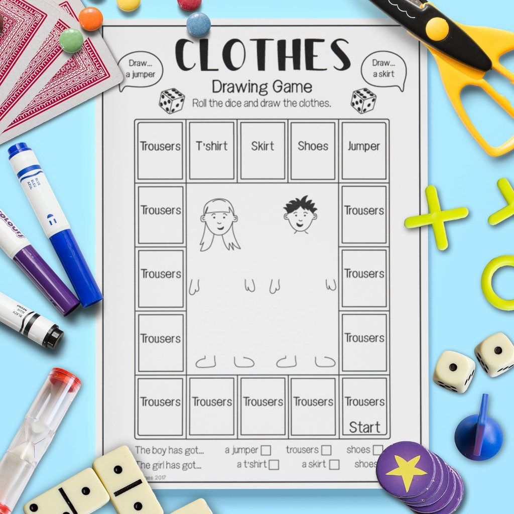 Clothes Drawing Game
