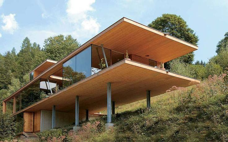 cross-laminated timber house