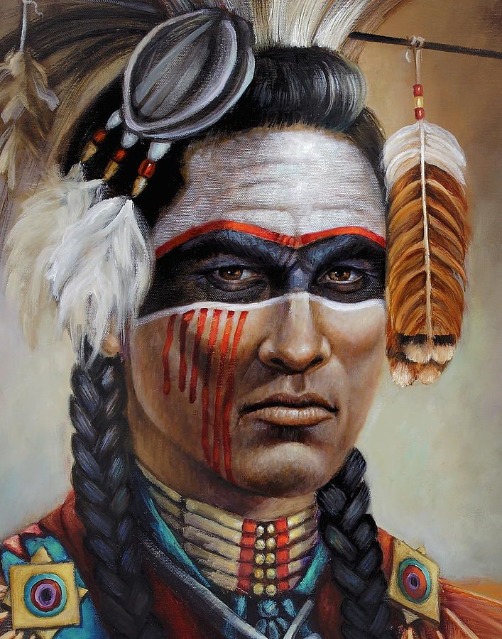 war paint Indian