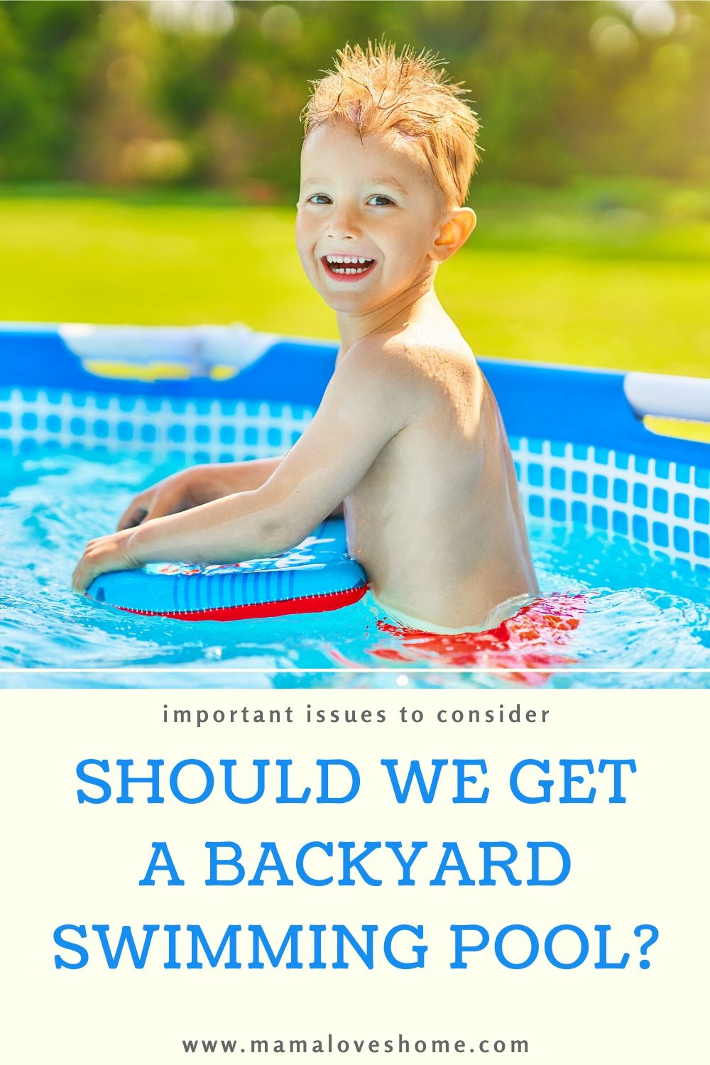 Should you install a home swimming pool in 2020