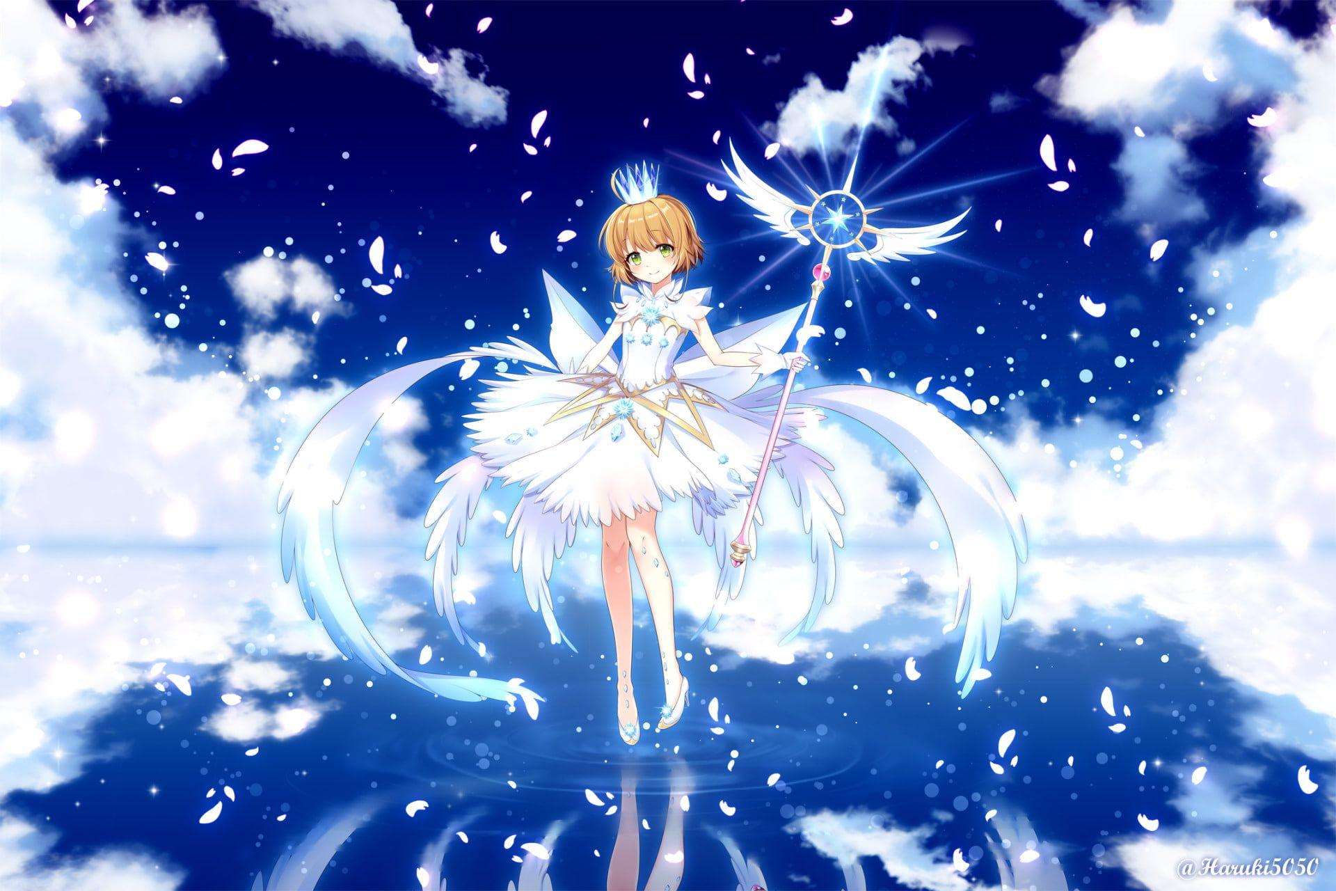Anime Cardcaptor Sakura Sakura Kinomoto 1080p Wallpaper Hdwallpaper Desktop Cardcaptor Sakura Cardcaptor Sakura