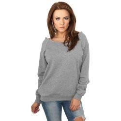 Urban Classics Damen Sweatshirt Pullover Sweat Shirt Sweater Pulli Basic Round