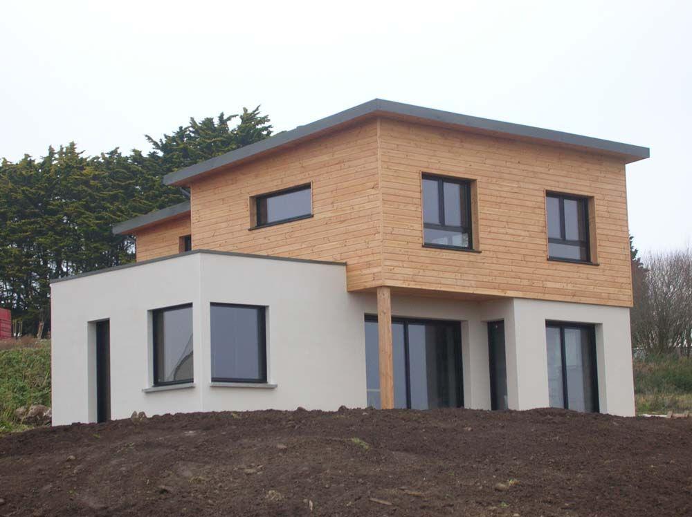 Construction neuve 3a architecte plouguerneau maison for Maison individuelle neuve