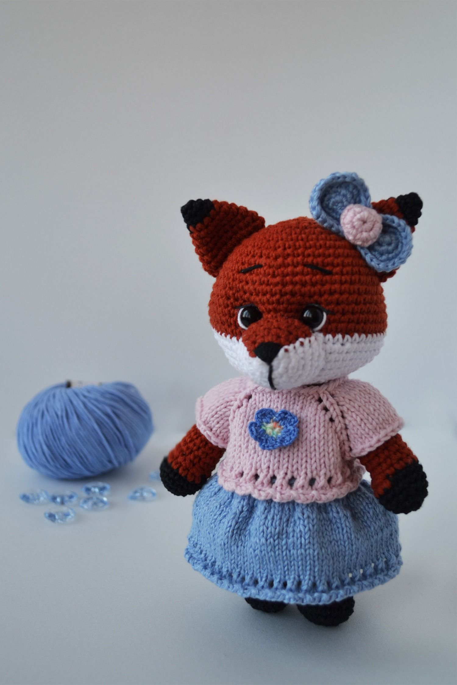 Amigurumi Cute Fox Crochet Pattern » Amigurumi Crochet Patterns By ... | 2250x1500