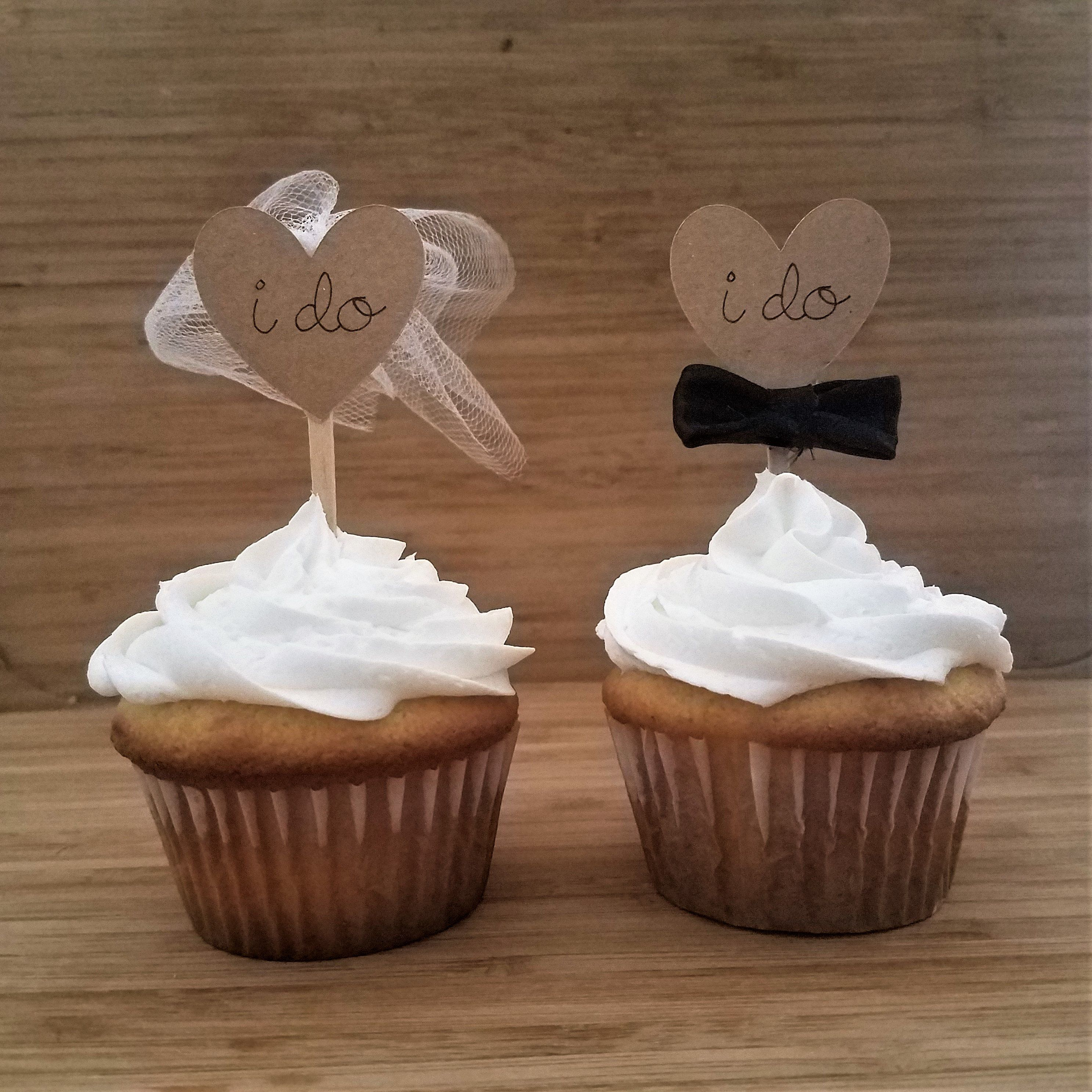 Wedding Cupcake Toppers I Do Cupcake Toppers Bridal Shower Etsy Wedding Cupcake Toppers Bridal Shower Cupcakes Toppers Bridal Shower Cakes Rustic