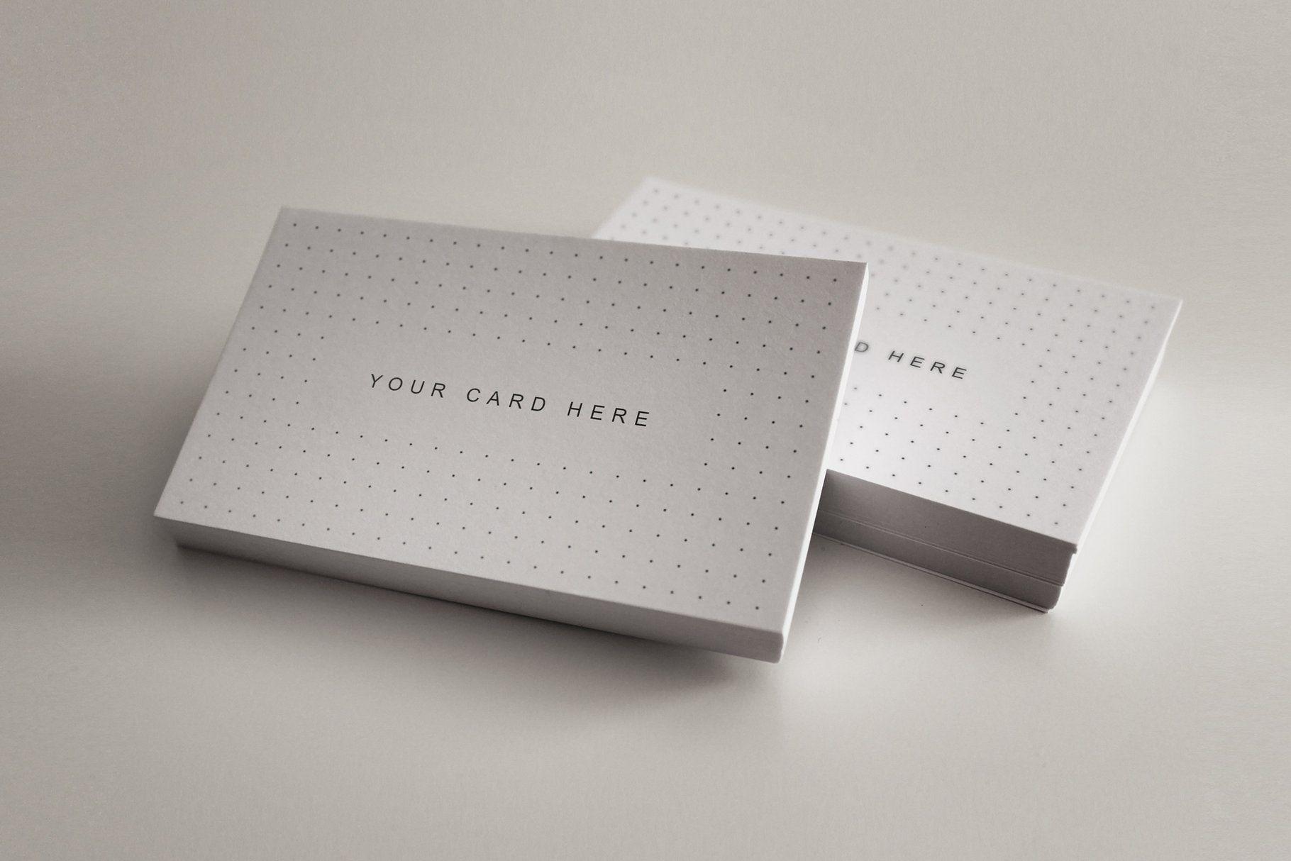 Bundle Flyer Business Card Mock Up Business Card Mock Up White Business Card Design Printable Business Cards