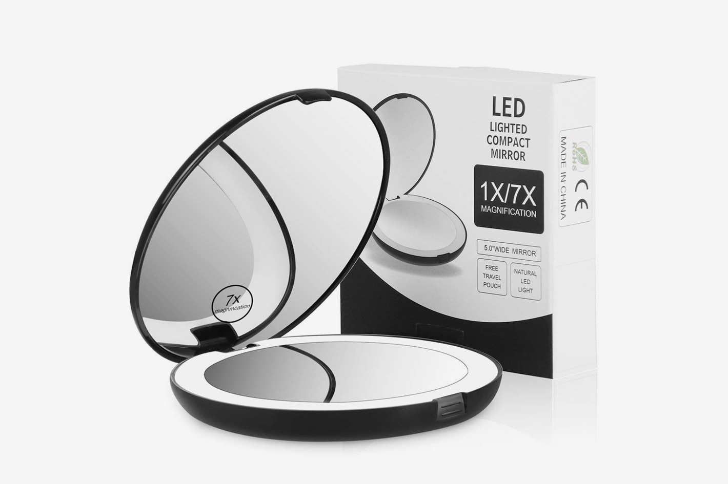 The Best Lighted Makeup Mirrors On Amazon According To Reviewers Travel Makeup Mirror Mirror With Led Lights Makeup Mirror With Lights
