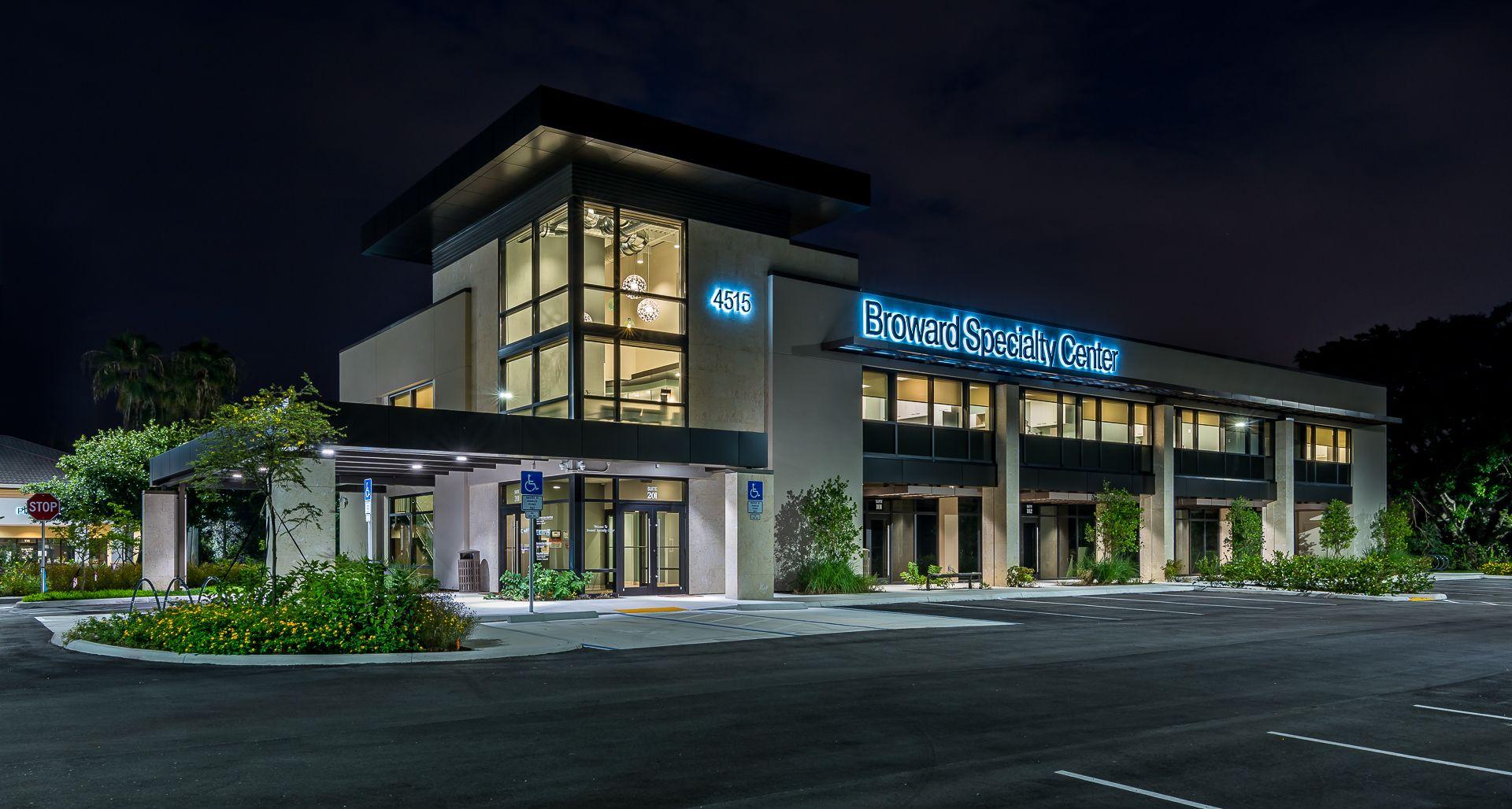 Broward specialty center in coconut creek florida we