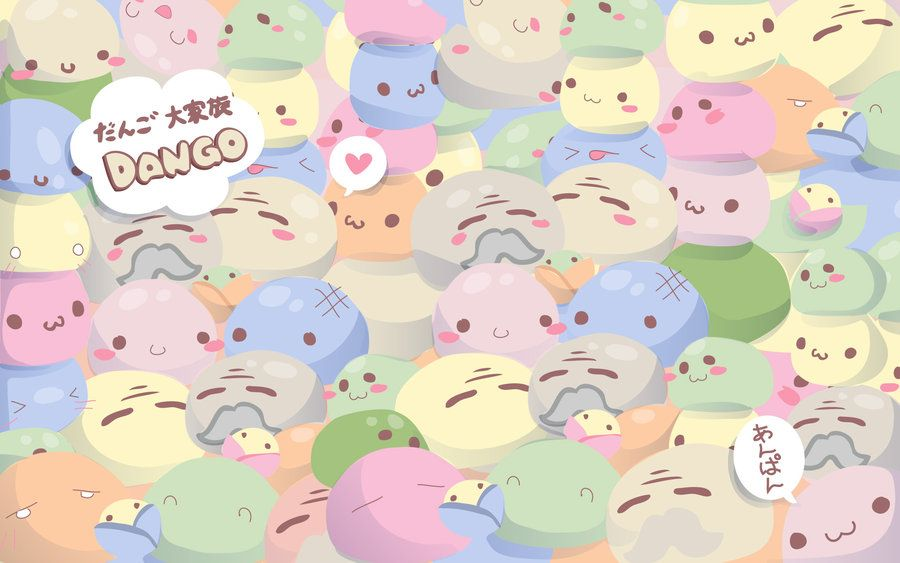 Dango Daikazoku Wallpaper By Peterpan Syndrome On Deviantart
