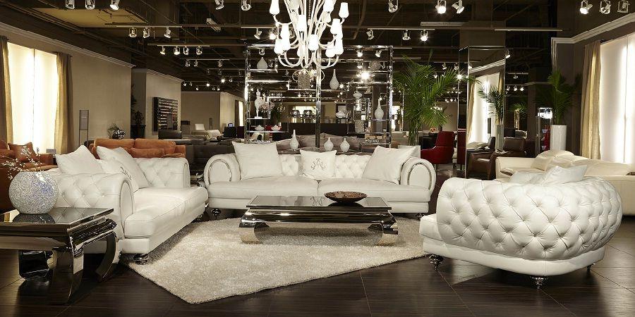 White Leather Sofa Set Sofa Sofadesign Sofaideas Sectional
