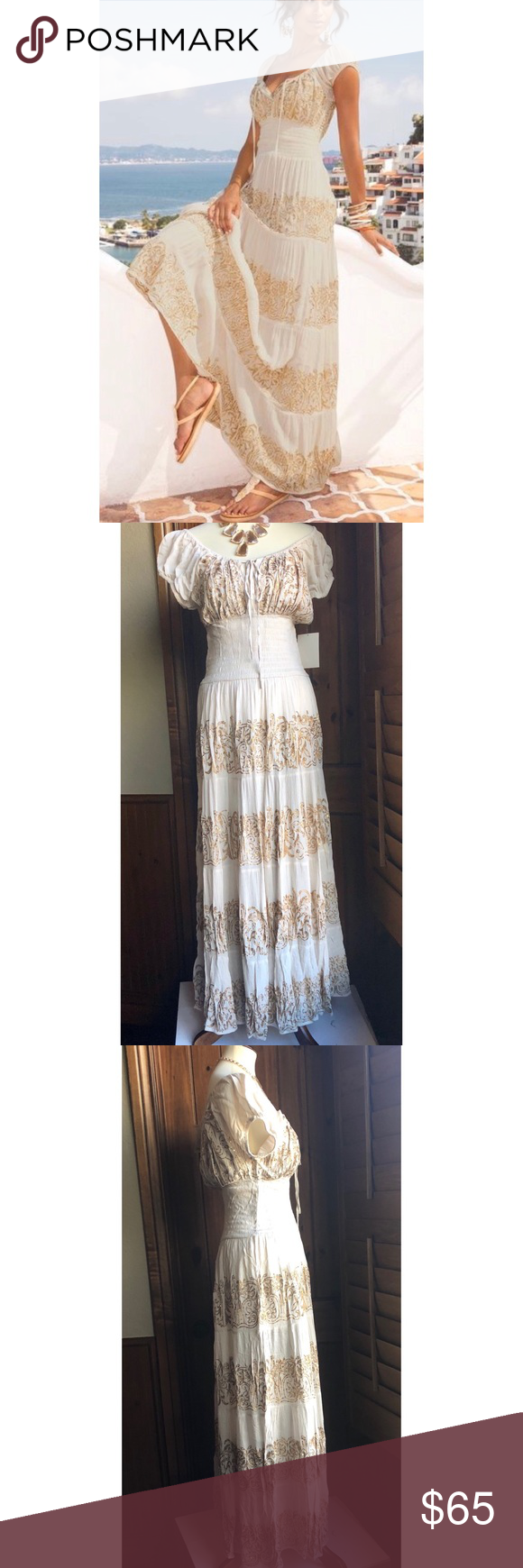 Boston Proper Sequin Peasant Dress Sz M Nwt Maxi Boston Proper Dresses Peasant Dress Clothes Design [ 1740 x 580 Pixel ]