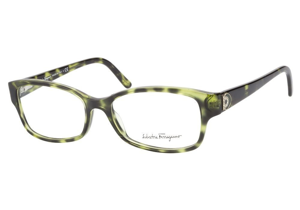 3a8375051a Salvatore Ferragamo SF2687B 744 Green Tortoiseshell. This frame is so  beautiful. Green on green eyes is gorgeous since these are darker and will  make your ...