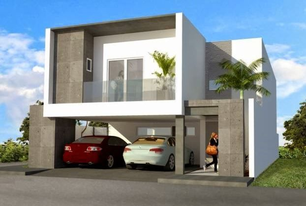 Fachadas de casas con cochera abajo fachadacdoble for Casas con fachadas bonitas