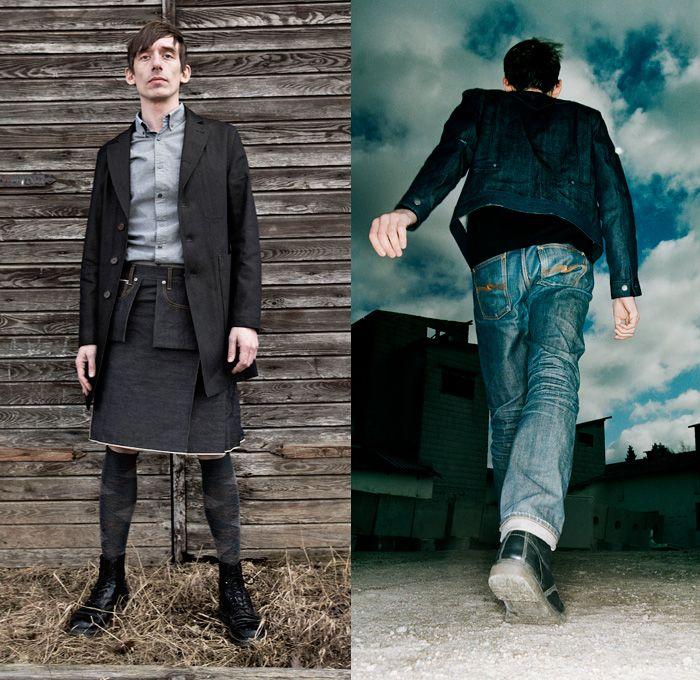 e81614c5c74 Nudie Jeans 2014 Spring Mens Lookbook - Bringing Expressions Together -  Denim Jeans Selvage Selvedge Worker Tailored Rainwear Parka Jumper Sweater  Kilt ...