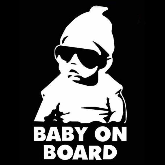 Baby On Board Vinyl Decal Sticker Funny Truck Car Window Laptop - Custom vinyl stickers ebay