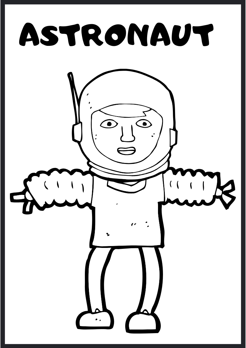 Free Outer Space Coloring Pages and Activity Sheet | Space ...