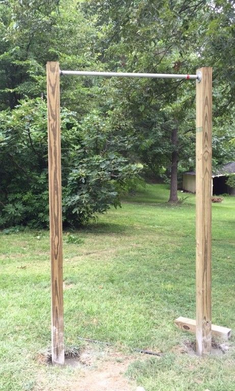 Making a DIY Pull Up Bar at Home in 5 Easy Steps | Outdoor ...