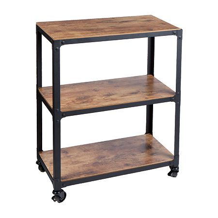 Mind Reader Shelf Cart WDMTCART3T-BLK, Color: Black - JCPenney