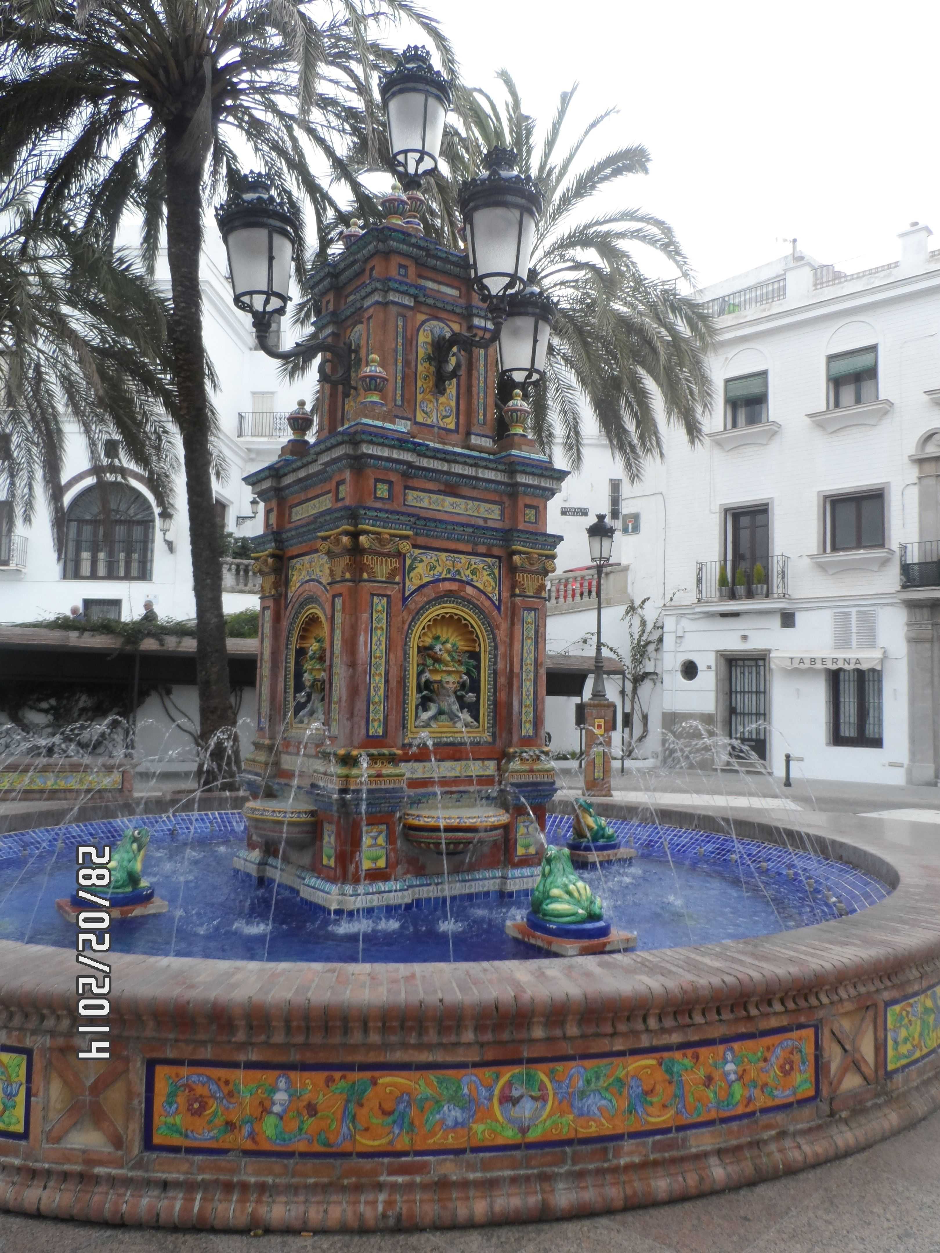 Fuente De Las Ranas Vejer De La Frontera Cádiz Cádiz Ranas Fronteras