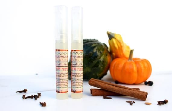 Pumpkin Spice Hand Sanitizer Alcohol Free Hand Wash Essential
