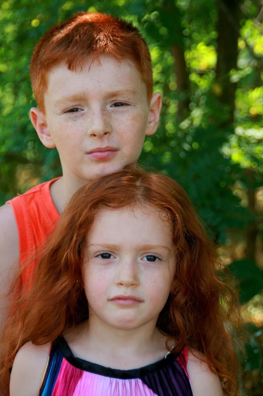 Free Image on Pixabay Brother, Sister, Portrait, Russet