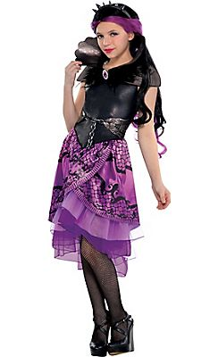 girls raven queen costume supreme ever after high party city halloween - All Halloween Costumes Party City
