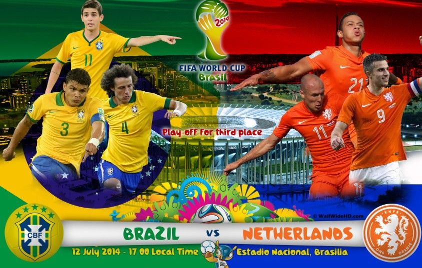 BRAZIL VS NETHERLANDS: ROAD TO THIRD PLACE MATCH