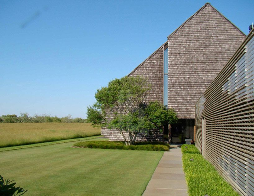 Laguardia Design Saves Sagaponack House From Eroding Land Architecture Exterior Architecture Details Outdoor Design