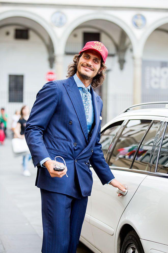 Street looks à la Fashion Week homme printemps-ete 2016 du Pitti Uomo e27d66109a0