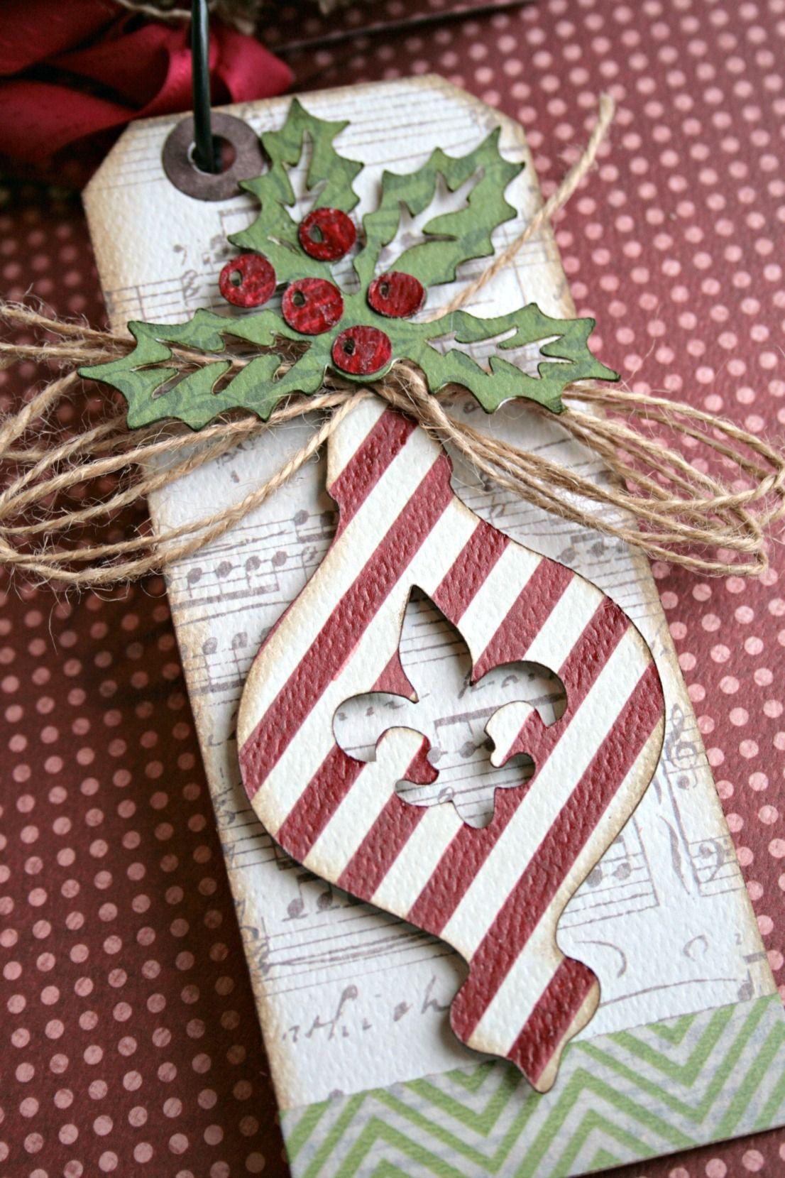 Cricut christmas gift tag ideas