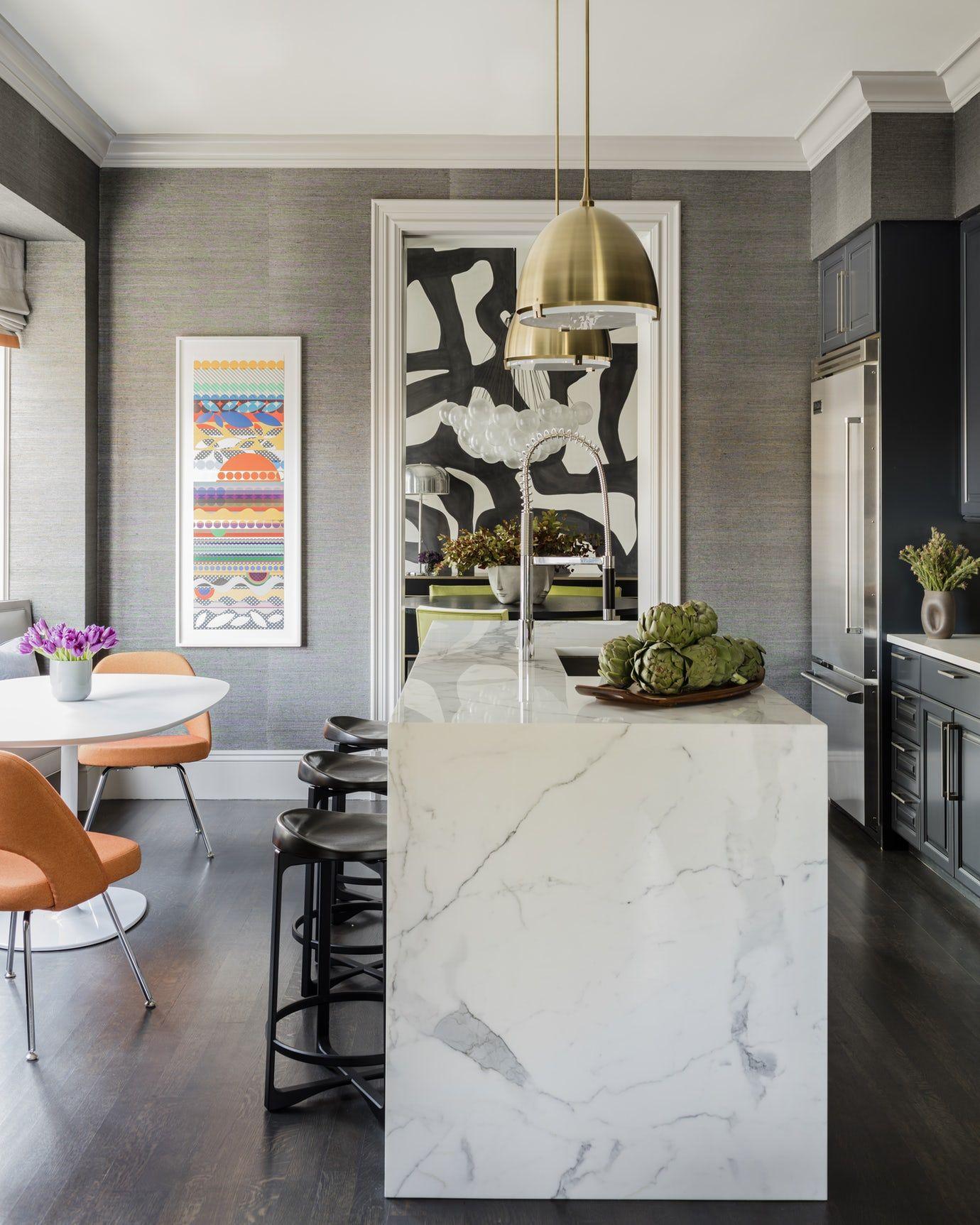 Beacon Street Residence, Kitchen Kitchen Contemporary Modern ...